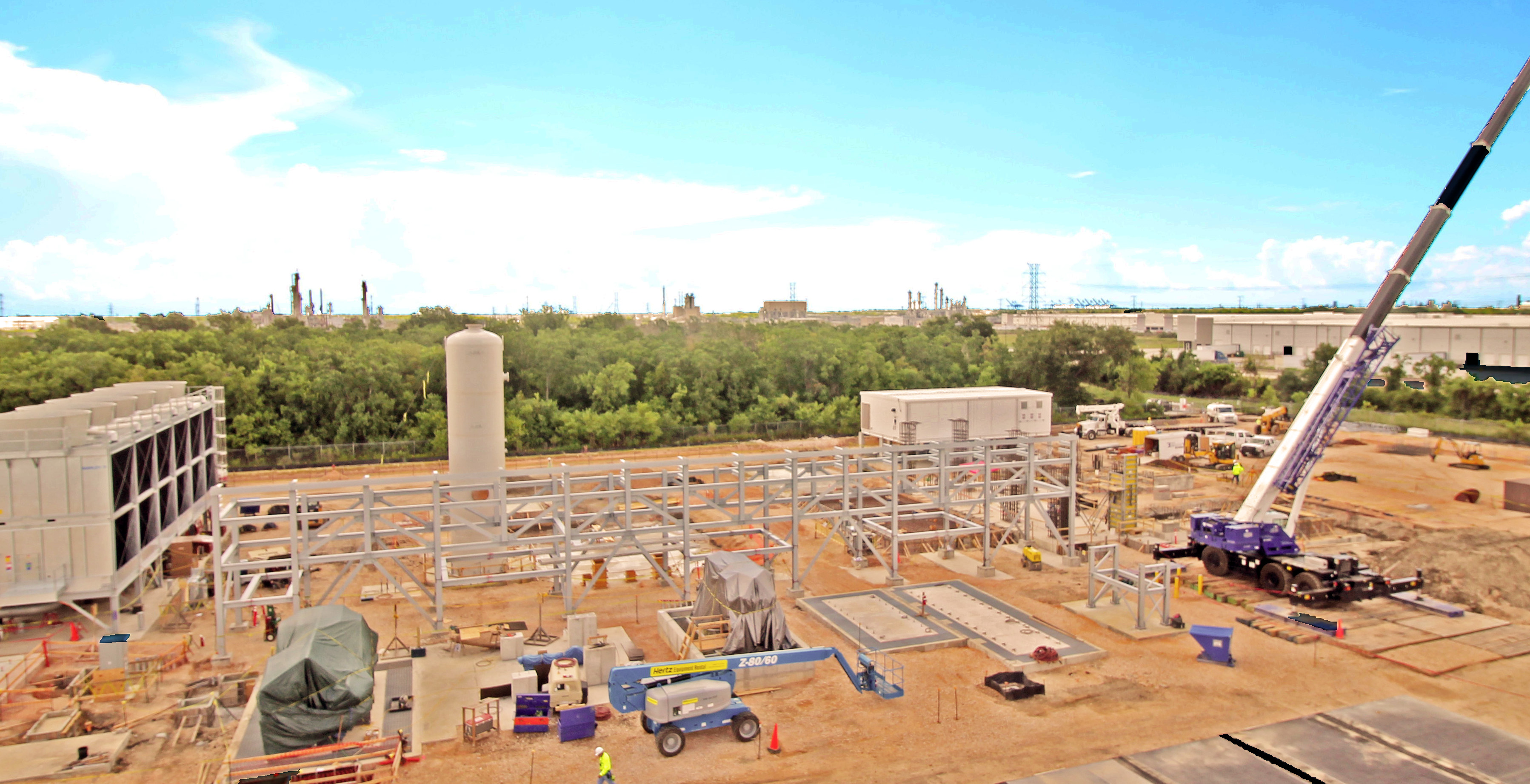 NET Power Demonstration Plant Under Construction